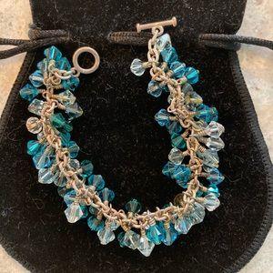 Jewelry - 7 inch Schwartzy crystal bracelet